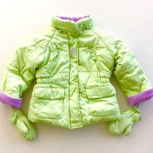 ZEROXPOSUR Lime Puffer Jacket 18M